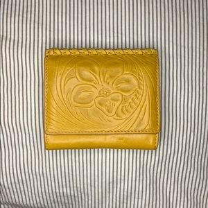 Hobo wallet (yellow)